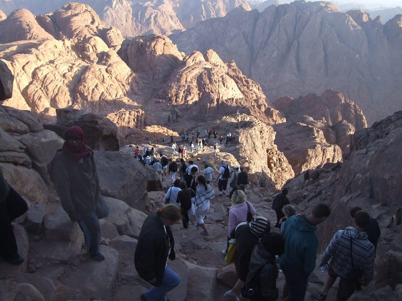 Climbing Mount Sinai  The ultimate overnight trek  | MY