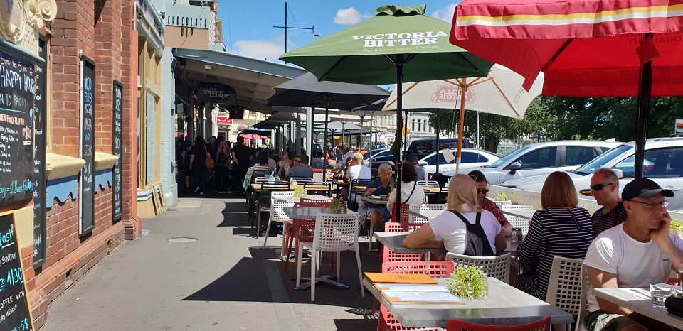 cafes of Williamstown